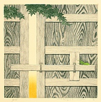 By Ryohei Tanaka born 1933 - Etching
