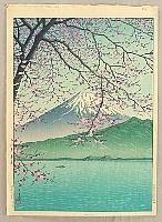 Mt. Fuji from Kishio - Kawase Hasui - 1883-1957