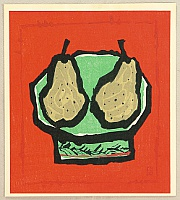 Shinro Ueno 1926-2005 - Two Pears