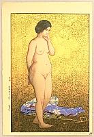 Nude - By Hiroshi Yoshida 1876-1950