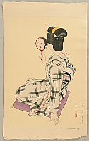 Tatsumi Shimura 1907-1980 - Five Figures of Modern Beauties - Marumage