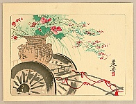 Zeshin Shibata 1807-1891 - Flower Cart