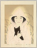 Ryusei Okamoto born 1949 - I Rescued a Kitten on a Street - B