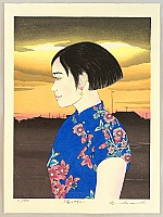Ryusei Okamoto born 1949 - First Love No. 46 - Town in the Sunset