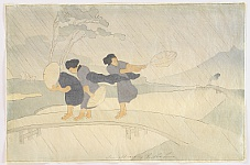 Bertha Lum 1869-1954 - Wind and Rain