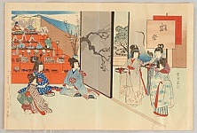 Shuntei Miyagawa 1873-1914 - Doll's Festival