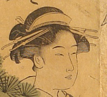 Shuncho Katsukawa active ca. 1780-1795 - Courtesan and Assistants