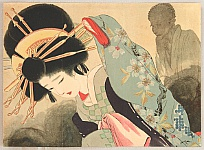 Sengai Igawa 1876-1961 - Beauty and Ghost