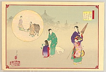 Gekko Ogata 1859-1920 - Twelve Months of the Floating World - July