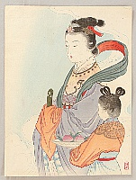 Goddess Seiobo - By Keishu Takeuchi 1861-1942