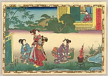 By Kunisada Utagawa - Genji Monogatari