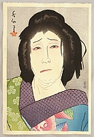 Shunsen Natori 1886-1960 - New Portraits of Kabuki Actors - Taruya Osen