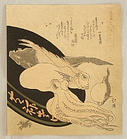 Hokkei Totoya 1780-1850 - Fish and Octopus