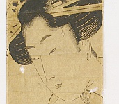 Eizan Kikugawa 1787-1867 - Two Beauties