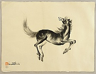 Chiura Obata 1885 - 1975 - Lively Horse