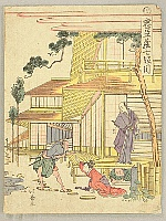 Hokuju Shotei 1763-1824 - Chushingura - Act 7