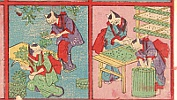 Unknown - Cats in Silk Industry - Toy Prints