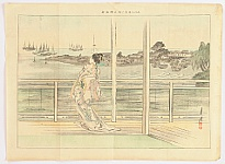 Gekko Ogata 1859-1920 - Eight Views of Shinagawa - Susaki
