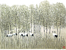 Hao Boyi born 1938 - Garden in the Fall
