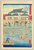 Hiroshige III Utagawa 1842-1894 - True Scenes of Tokyo - Eitai Bridge