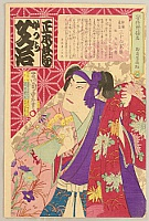 Chikashige Morikawa active ca. 1869-82 - Thirty-six Selected Actors, Story Tellers - Sukedakaya