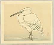 Bairei Kono 1844-1895 - Egret