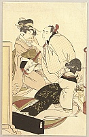 Utamaro Kitagawa 1750-1806 - Music and Drinking Party