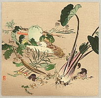 Zeshin Shibata 1807-1891 - Vegetables