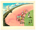 Sanzo Wada 1883-1968 - Bicycle Racing (Series Occupations of Japan)