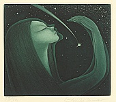 Shizuo Nishizawa 1912-1997 - Catching a Falling Star