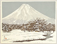 Seiichiro Konishi born 1919 - Mt. Fuji from Shinobino Moor