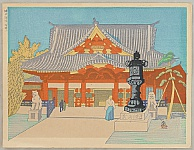 One Hundred Views of Great Tokyo in Showa Period - Kanda Shrine