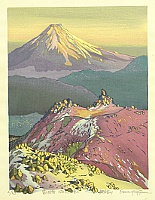 10 Views of Mt. Fuji - Dusk - By Osamu Sugiyama born 1946