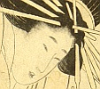 Utamaro Kitagawa 1750-1806 - Eight Best Views of Commuting Yoshiwara - Beauty and Game