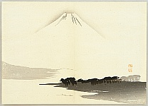 Gyokusho Kawabata 1842-1914 - Mt. Fuji from the Pine Forest of Miho
