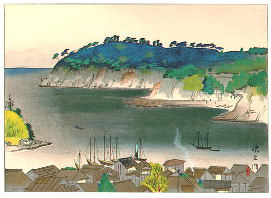 Eikyu Matsuoka 1881-1938 - Manazuru Peninsula