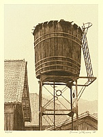 Brian Williams born 1950 - Water Tower