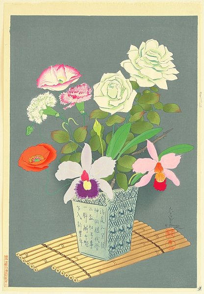 Bakufu Ono 1888-1976 - Flowers - Summer