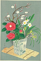 Bakufu Ono 1888-1976 - Flowers - Winter