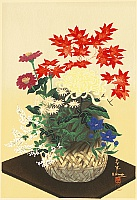 Bakufu Ono 1888-1976 - Flowers - Autumn