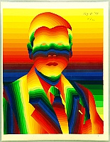 Rainbow Man - Ay-O - born 1931