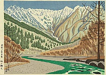 Takeji Asano 1900-1999 - Kamikochi Heights
