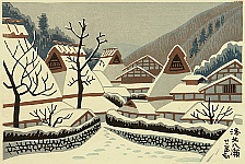 Takeji Asano 1900-1999 - Yase in the North of Kyoto