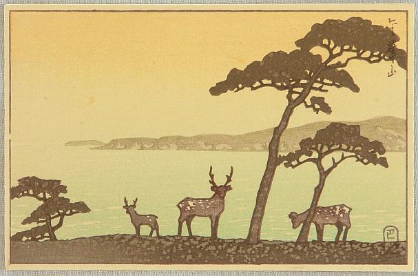 By Hasui Kawase 1883-1957 - Japanese Woodblock Print
