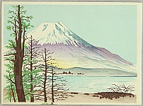 Nisaburo Ito 1910-1988 - Mt. Fuji and Lake Yamanaka
