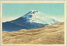 Three Views of Mt. Fuji - By Shinsui Ito 1898-1972