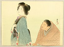 Eishun Yamamoo fl.ca. 1890 - 1910. - Conversation