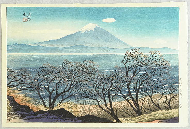 Shinsui Ito 1898-1972 - Twelve Scenic Places of Oshima Island - Wind