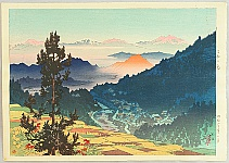 Shinsui Ito 1898-1972 - Morning at Kanabayashi