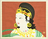 Gakuryo Nakamura 1890-1969 - Heavenly Indian Dancer